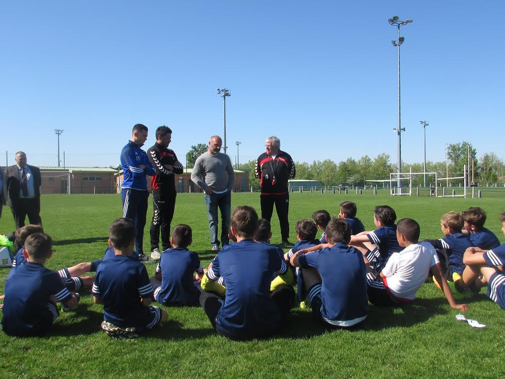 Pascal Dupraz parrain de notre section football